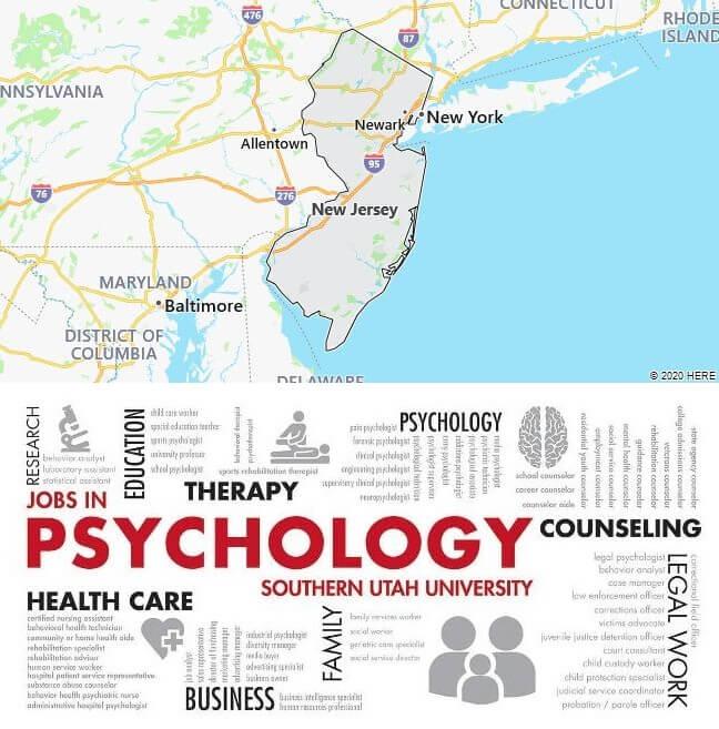 Psychology Schools in New Jersey