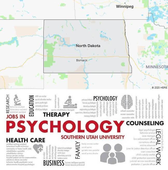 Psychology Schools in North Dakota