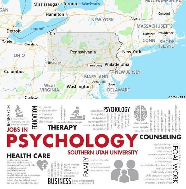 Psychology Schools in Pennsylvania