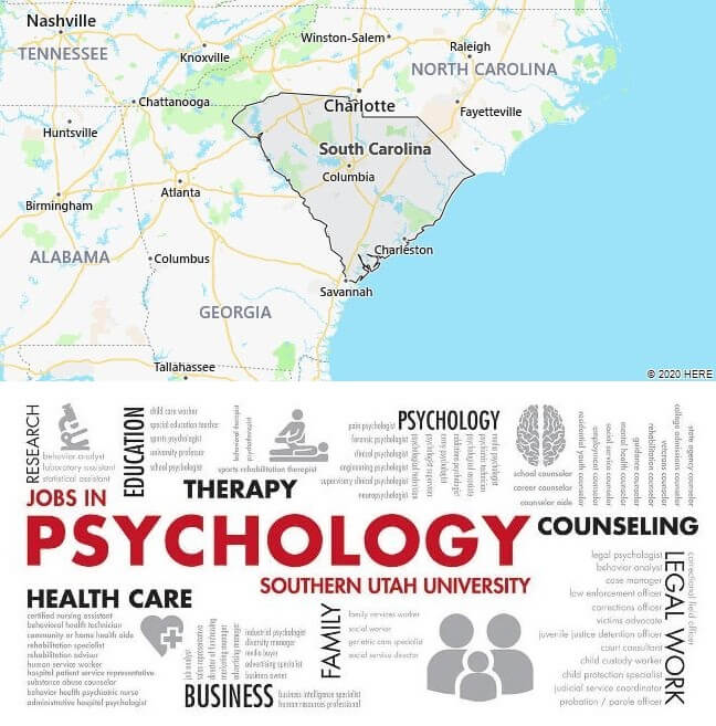 Psychology Schools in South Carolina