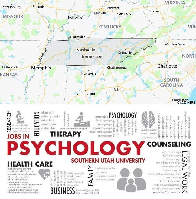 Psychology Schools in Tennessee