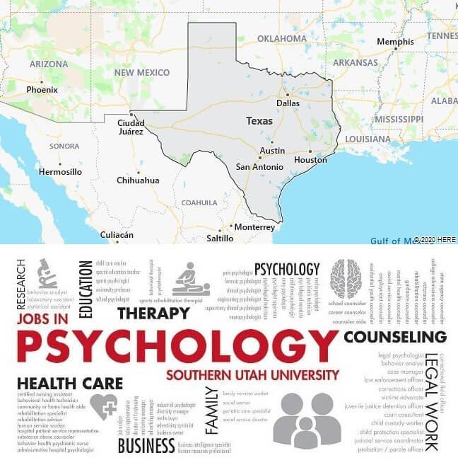 Psychology Schools in Texas