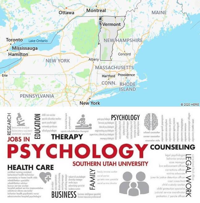 Psychology Schools in Vermont