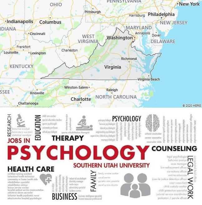 Psychology Schools in Virginia