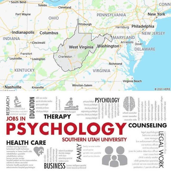 Psychology Schools in West Virginia