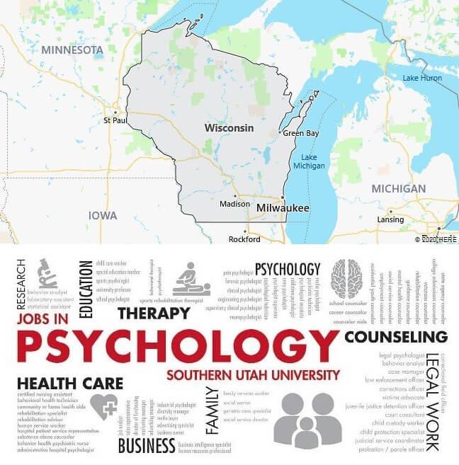 Psychology Schools in Wisconsin