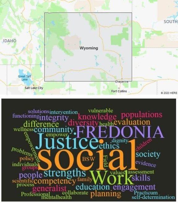 Social Work Schools in Wyoming