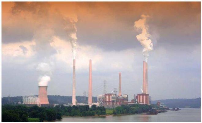 Coal power plant in Ohio, USA
