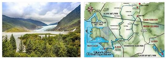 Colorado and Alaska
